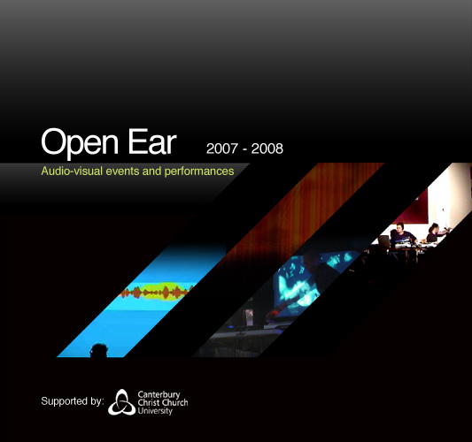 Open Ear, Audio-visual events and performances 2007 - 2008