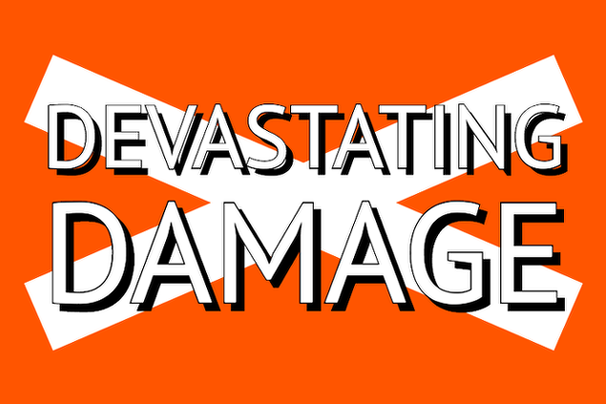 Flag for States of Damage