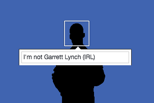 I'm Not Garrett Lynch (IRL) - Facebook Group.