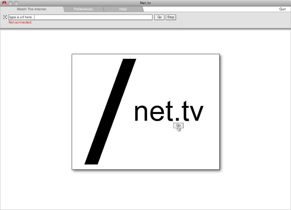 net.tv splashscreen