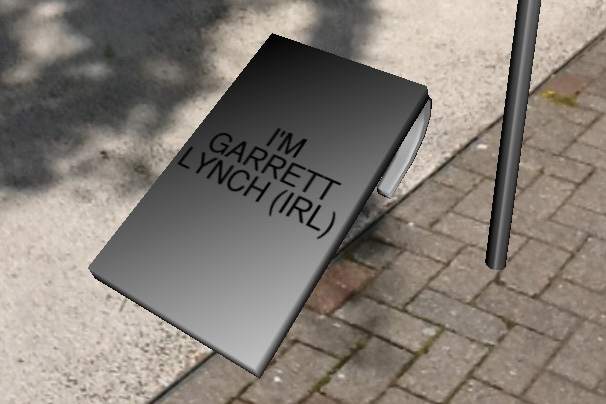Sandwich Board - 'Virtual' Replicas